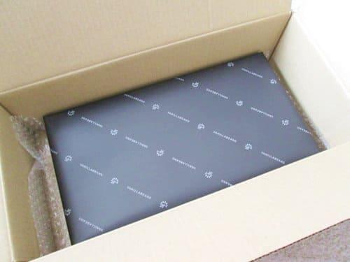 バニラビーンズチョコレート8個入りの包装