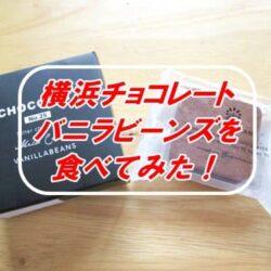 横浜チョコレートバニラビーンズ