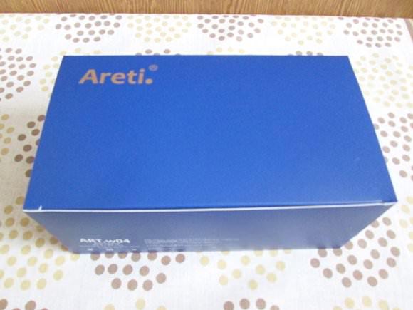 areti洗顔ブラシの箱
